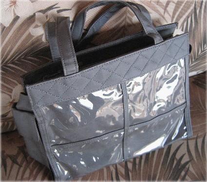 Grandma's Brag Bag, Photo Purse, Photo Brag Tote